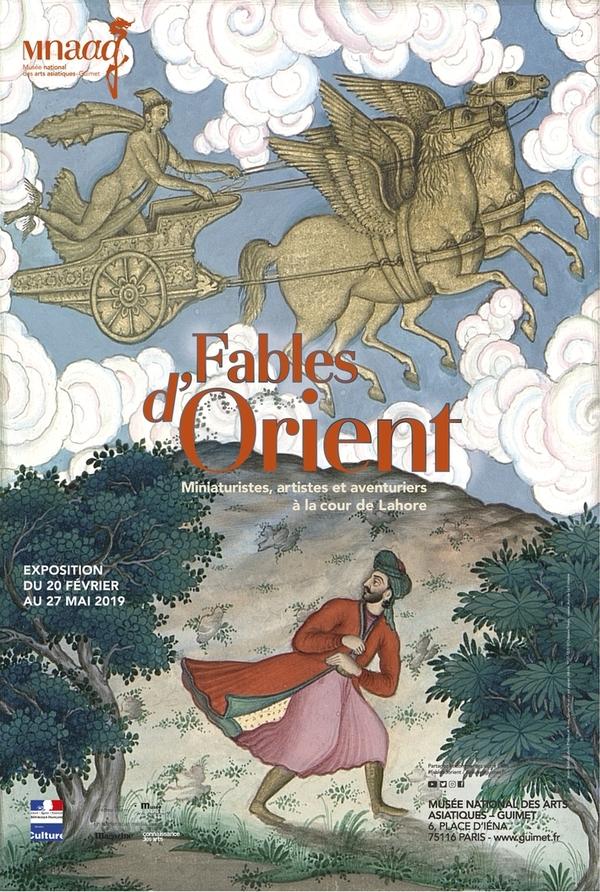 Nuit des musées 2019 -Fables d'Orient - Miniaturistes, artistes et aventuriers à la cour de Lahore