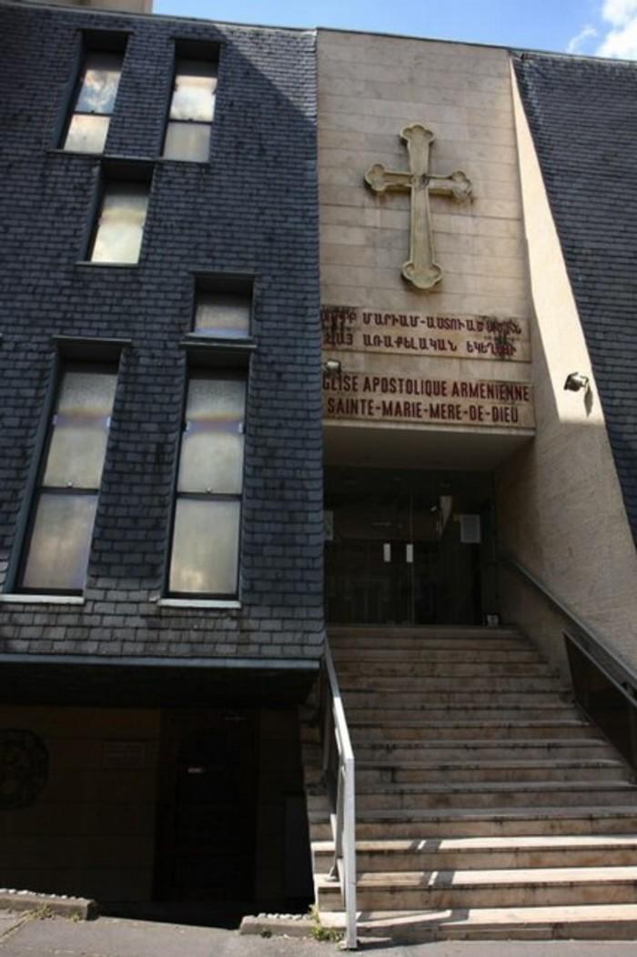 Journées du patrimoine 2020 - Visite de l'église Sainte-Marie de l'Eglise apostolique arménienne