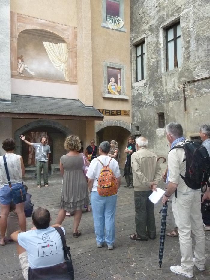 Journées du patrimoine 2019 - Visite guidée à deux voix « Les allées contées »
