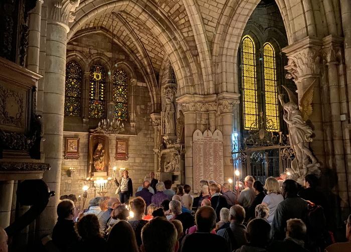 Journées du patrimoine 2020 - D'anges et de lumières, visite nocturne de l'église Notre-Dame
