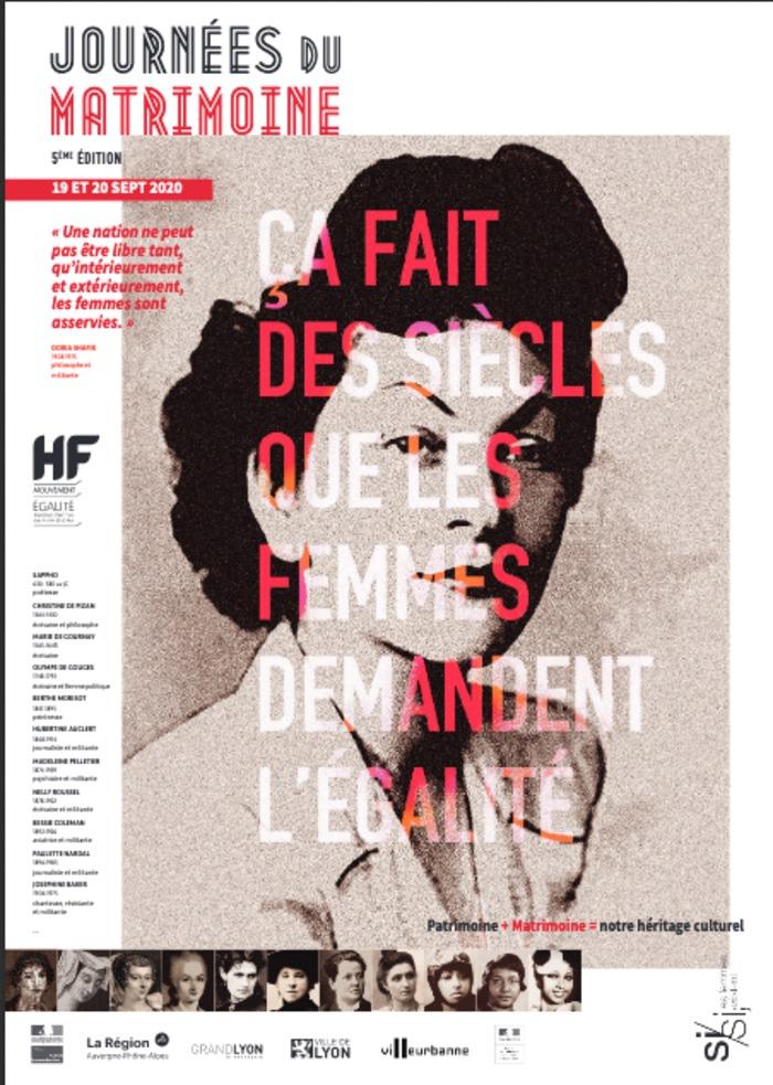 Journées du patrimoine 2020 - 14 femmes artistes et intellectuelles