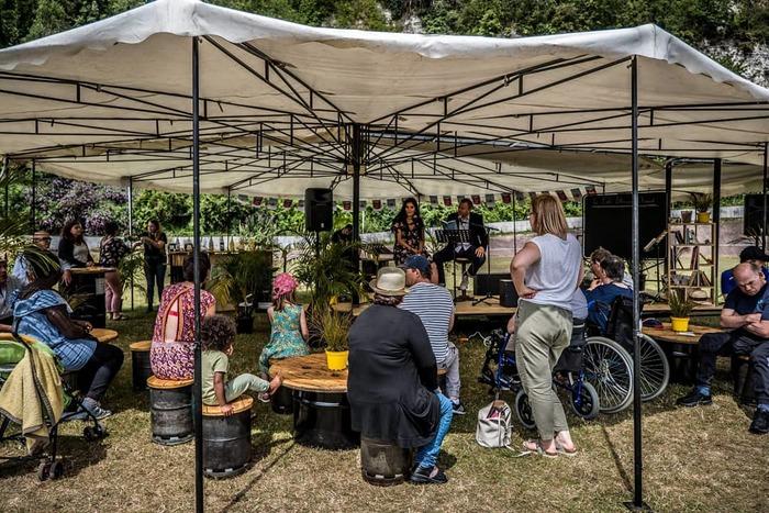 Journées du patrimoine 2020 - Café littéraire itinérant - Compagnie Les Nuits Vertes