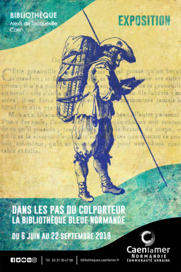 Journées du patrimoine 2019 - Atelier : Dans les pas du colporteur..., la Bibliothèque Bleue normande