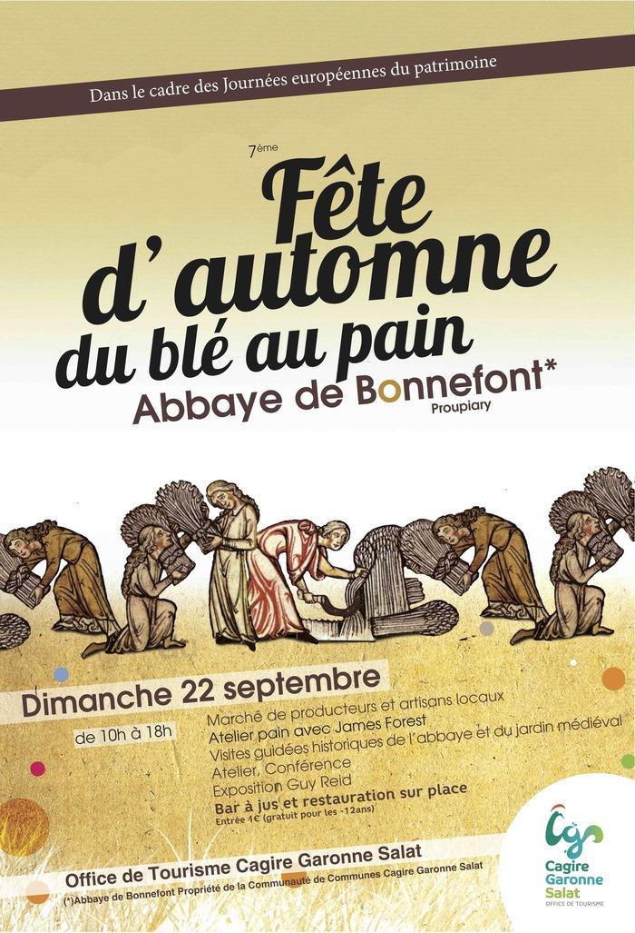 Journées du patrimoine 2019 - Fête d'Automne du Blé au Pain