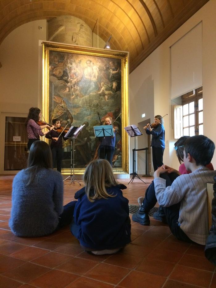 Nuit des musées 2019 -Violons en balade