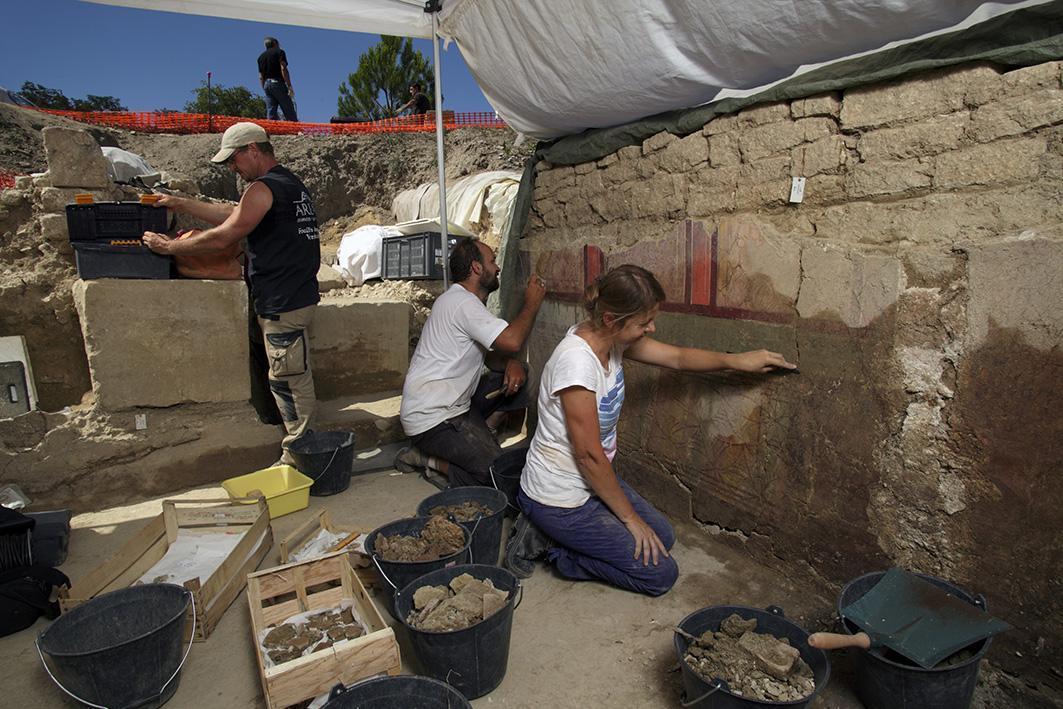 Les archéologues nous présentent le bilan