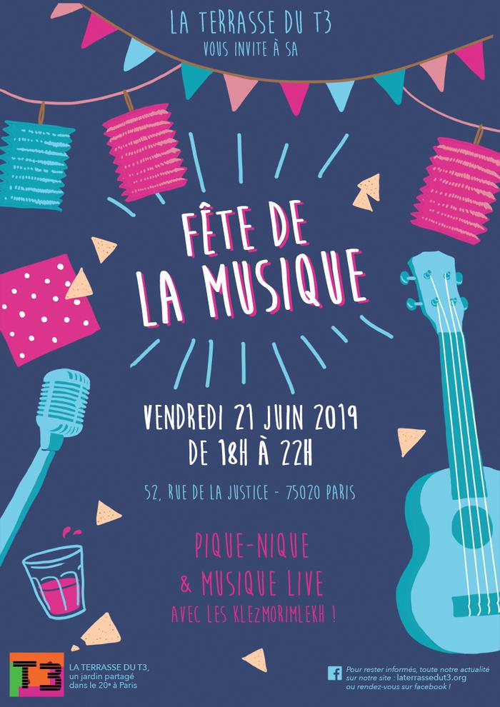 Fête de la musique 2019 - La Terrasse du T3