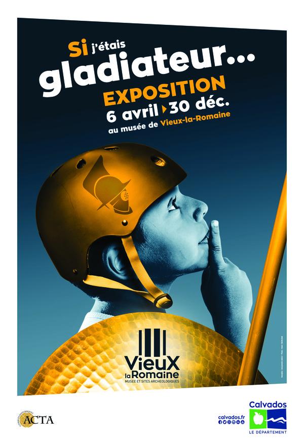 Nuit des musées 2019 -Exposition : si j'étais gladiateur...