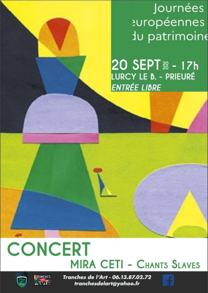 Journées du patrimoine 2020 - Concert - Mira Ceti - Chants Slaves