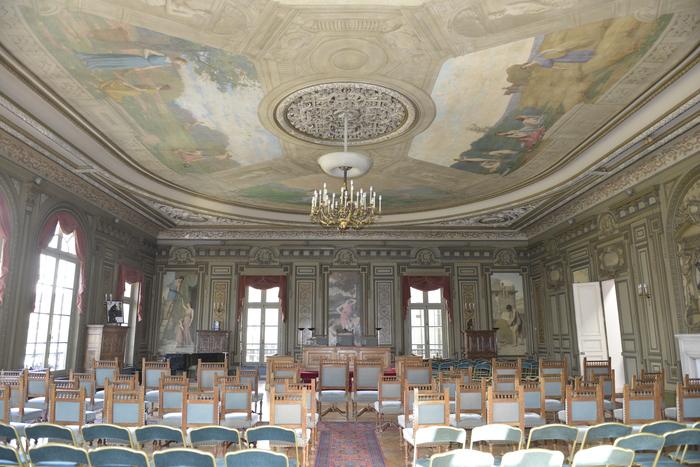 Journées du patrimoine 2020 - Visite libre de la salle des mariages de l'ancienne Mairie