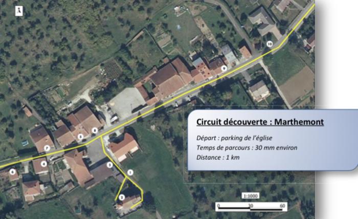 Journées du patrimoine 2020 - Visite libre du village de Marthemont