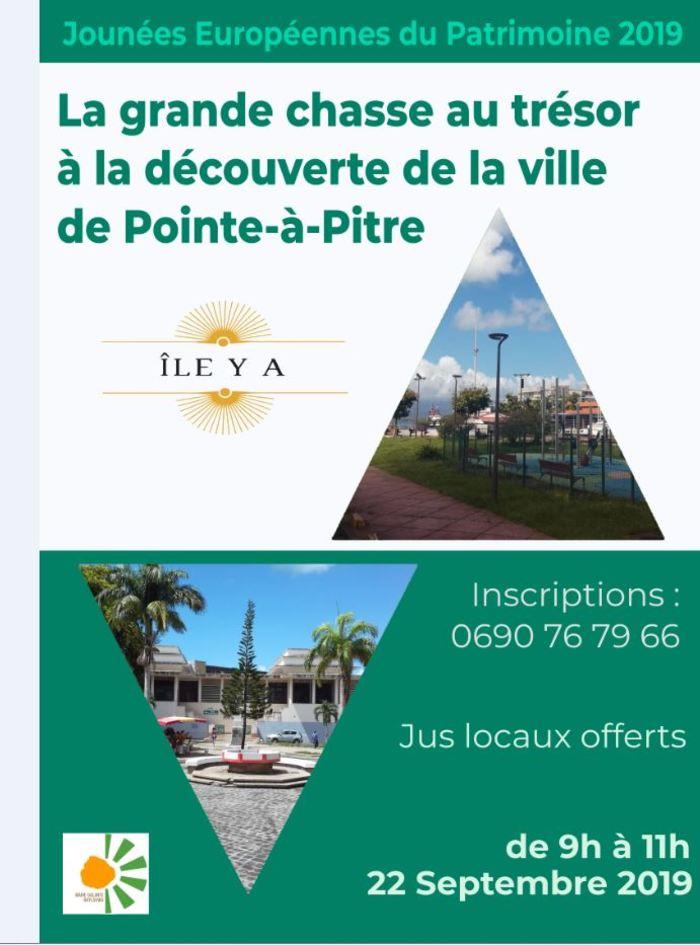 Journées du patrimoine 2019 - Découverte du patrimoine immatériel de Pointe à Pitre en famille