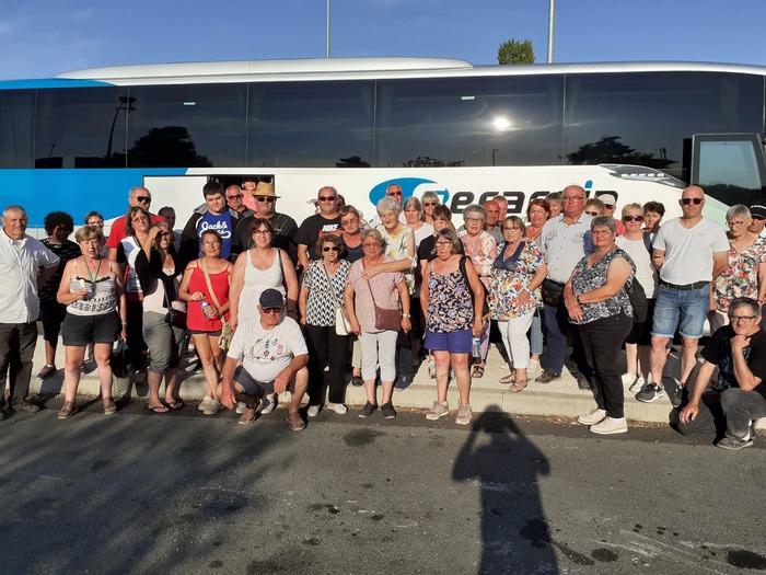 Voyage annuel du Comité des Fêtes de Lugon