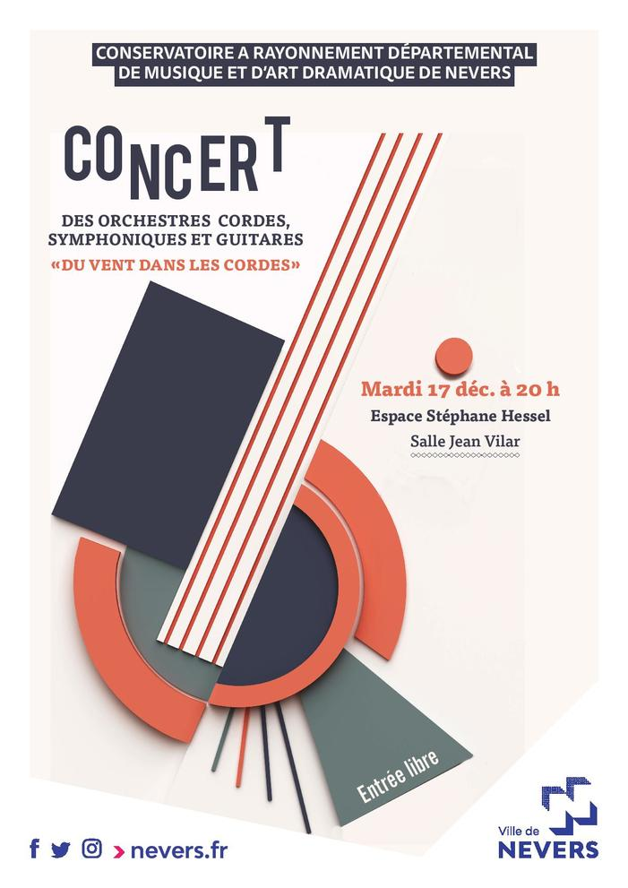 Concert des Orchestres Cordes, Symphoniques et Guitares