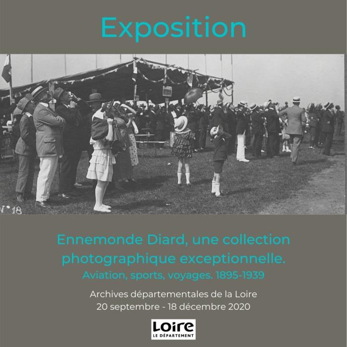 Journées du patrimoine 2020 - Ennemonde Diard : une collection photographique exceptionnelle. Aviation, sports, voyages. 1895-1939