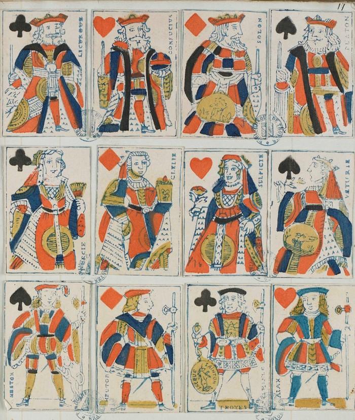 Journées du patrimoine 2019 - Atelier de création de cartes à jouer