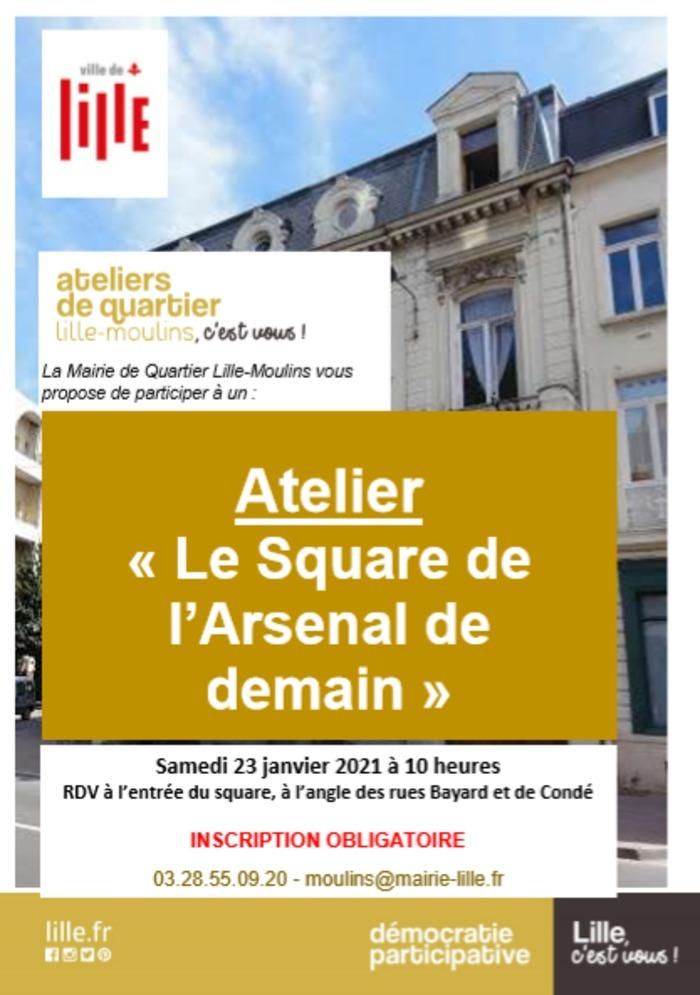 """Atelier """"le square de l'Arsenal de demain"""""""