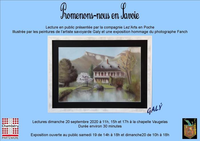 Journées du patrimoine 2020 - Promenons-nous en Savoie
