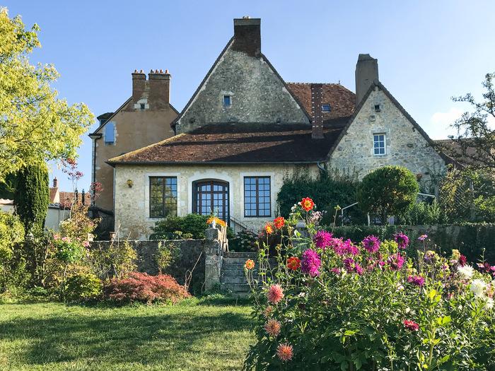 Journées du patrimoine 2019 - Visite libre du jardin d' Elisabeth et Adam : Jardin privé, clos en terrasses, belle demeure