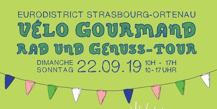 Journées du patrimoine 2019 - Vélo Gourmand franco-allemand dans l'Eurodistrict - départ de La Wantzenau