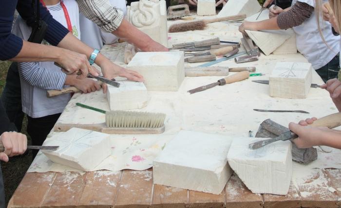 Journées du patrimoine 2020 - L'association des artisans d'art et métiers du Loir-et-Cher au Village des artisans d'art.