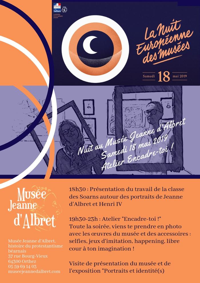 Nuit des musées 2019 -Visite et Atelier