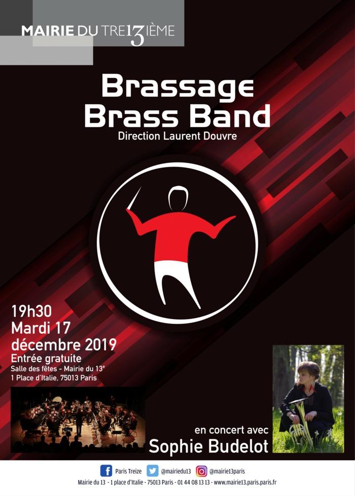 Concert du Brassage Brass Band avec Sophie Budelot