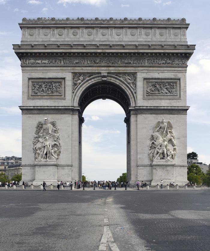 Journées du patrimoine 2020 - Entrée gratuite à l'Arc de triomphe
