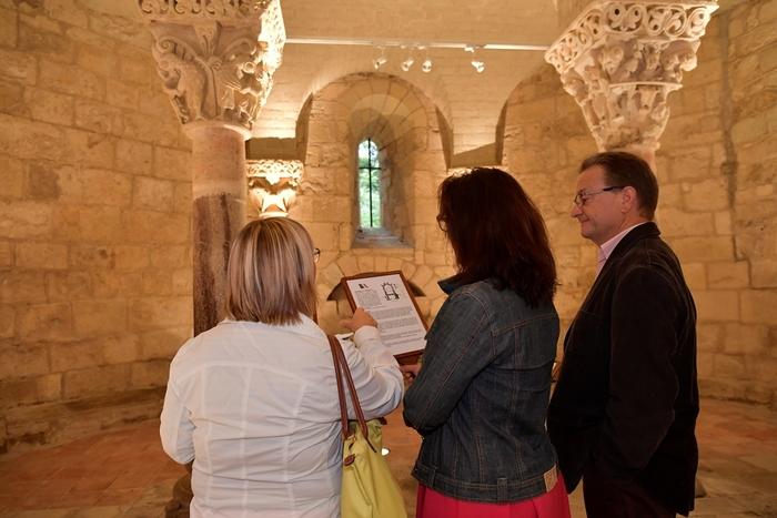 Journées du patrimoine 2019 - Découverte de la crypte de Saint-Girons