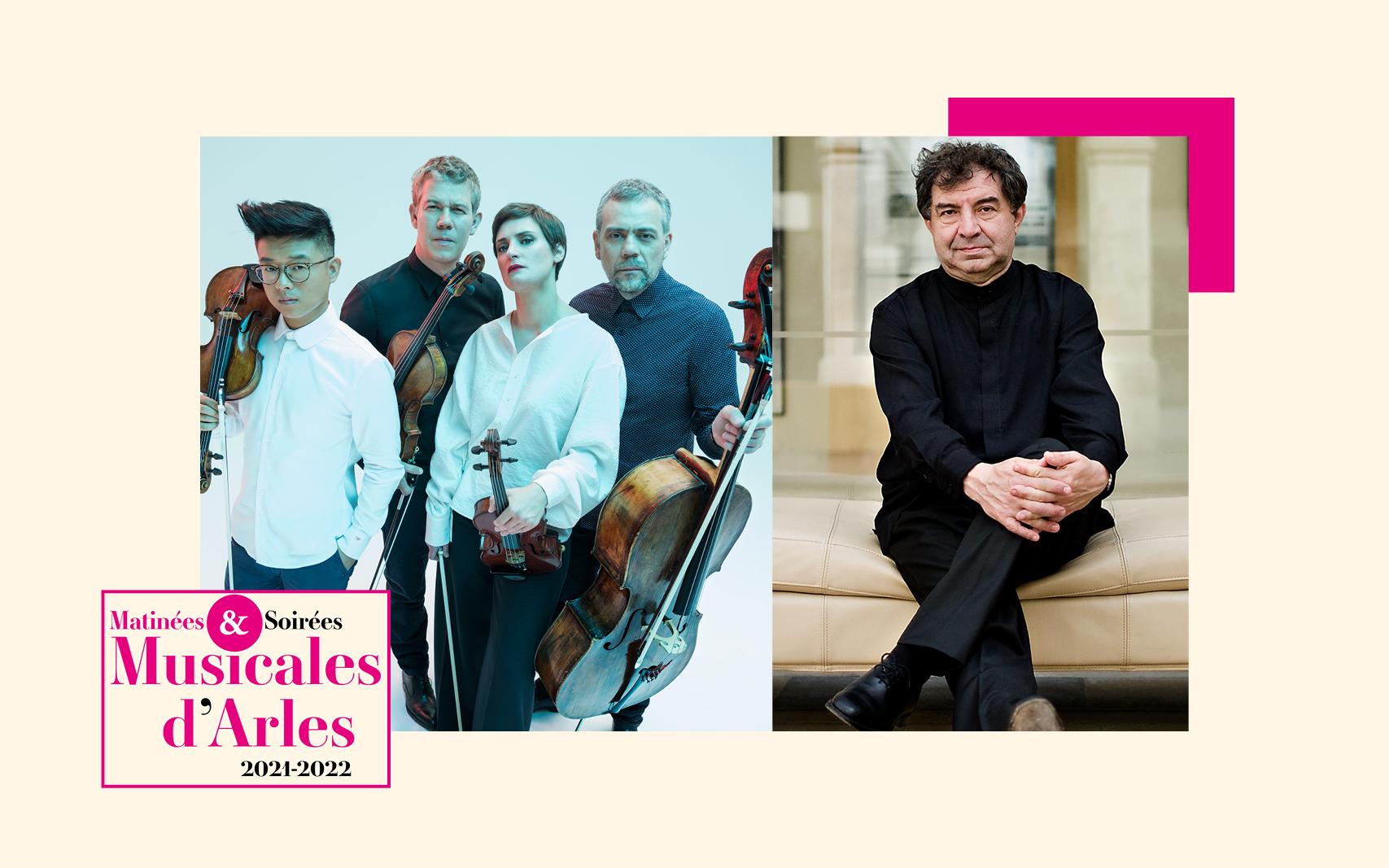 Le Quatuor Diotima est l'un des plus demandés au monde. Il est accompagné ici par Jean-François Heisser, pianiste, chef d'orchestre, pédagogue à la vaste culture et à la curiosité sans cesse en éveil.