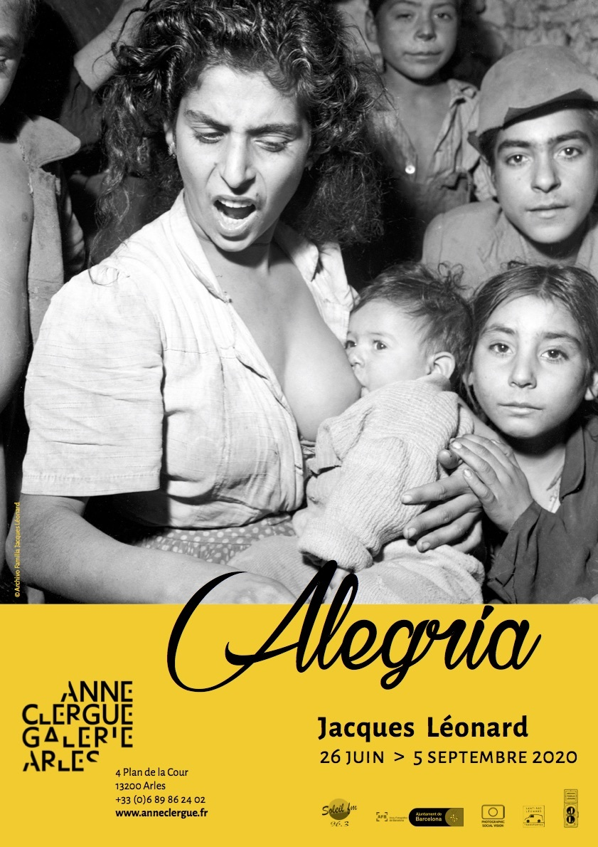 Exposition Alegría de Jacques Léonard (1909-1994) sur la communauté gitane de Barcelone des années 50.