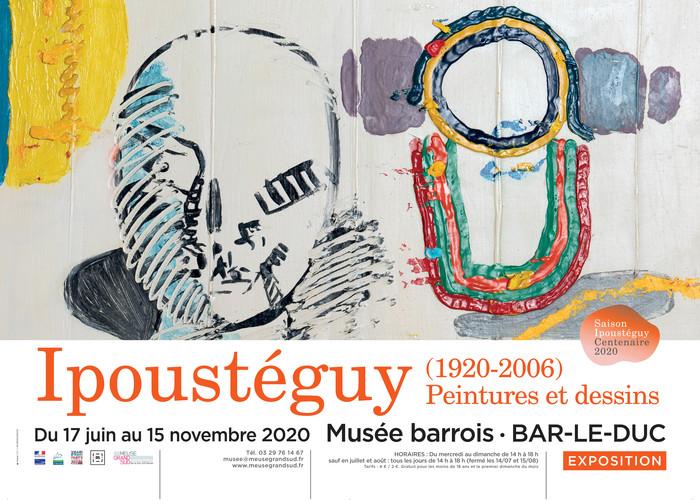 Journées du patrimoine 2020 - Visite guidée de l'exposition : Ipoustéguy (1920-2006), peintures et dessins