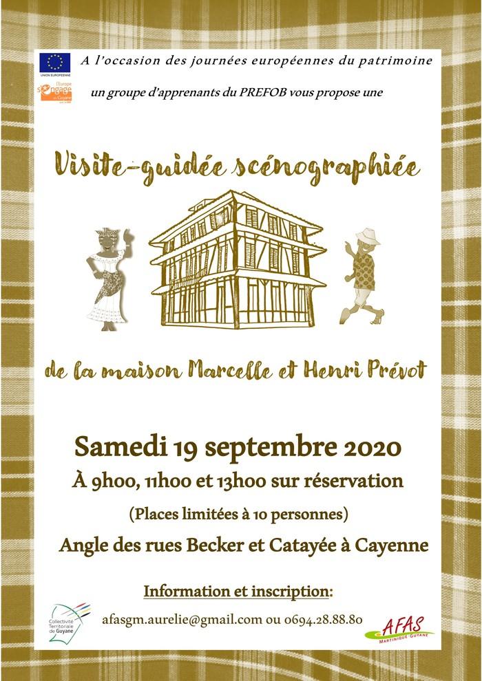 Journées du patrimoine 2020 - Visite guidée de la maison créole Marcelle et Henri Prévot