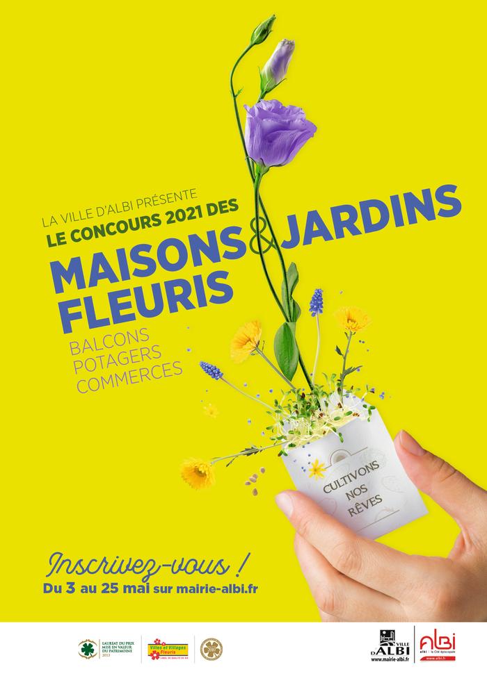 devenez un acteur du fleurissement et de l'embellissement de notre ville !