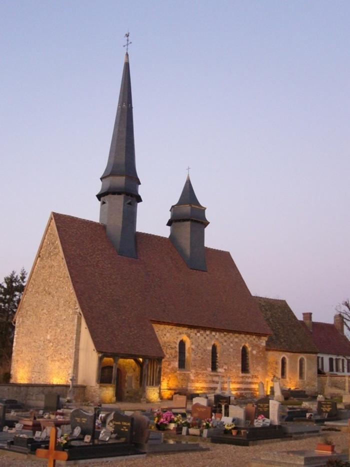 Journées du patrimoine 2020 - Visite nocturne de l'église d'Epieds