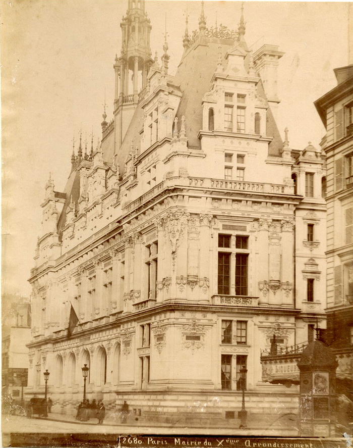 Journées du patrimoine 2019 - Visite de la mairie du Xe arrondissement