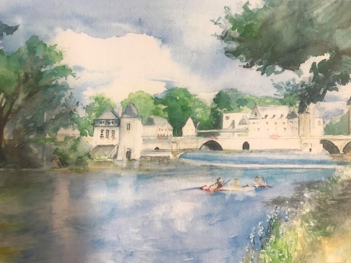 Journées du patrimoine 2020 - Exposition de peinture - Josy Here