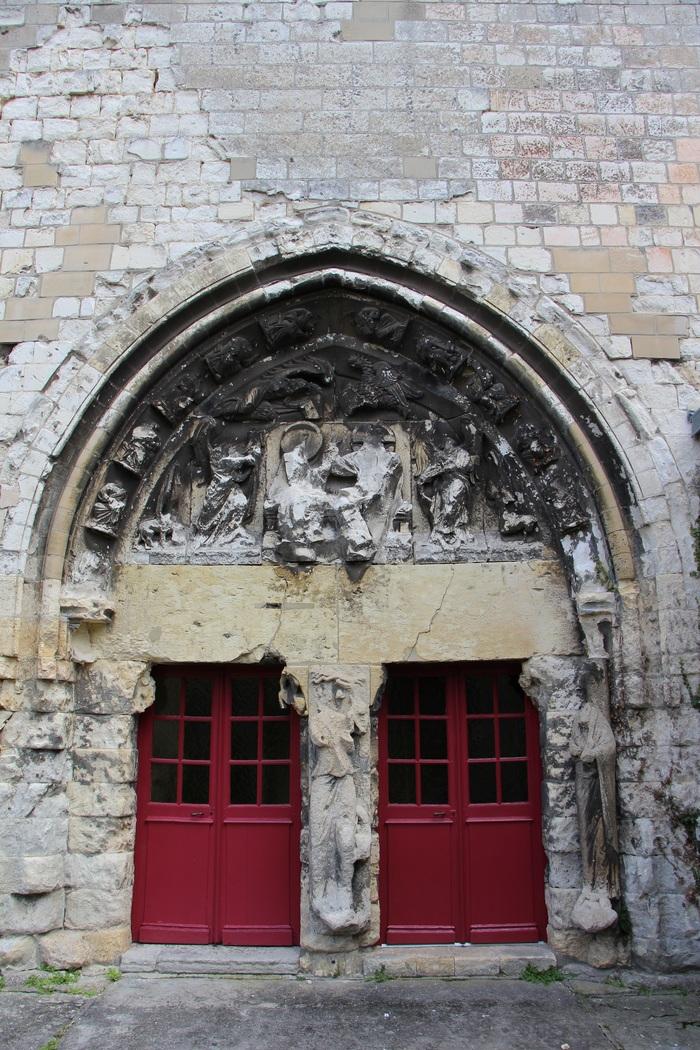 Journées du patrimoine 2020 - Présentation du portail roman de l'église Saint-Etienne