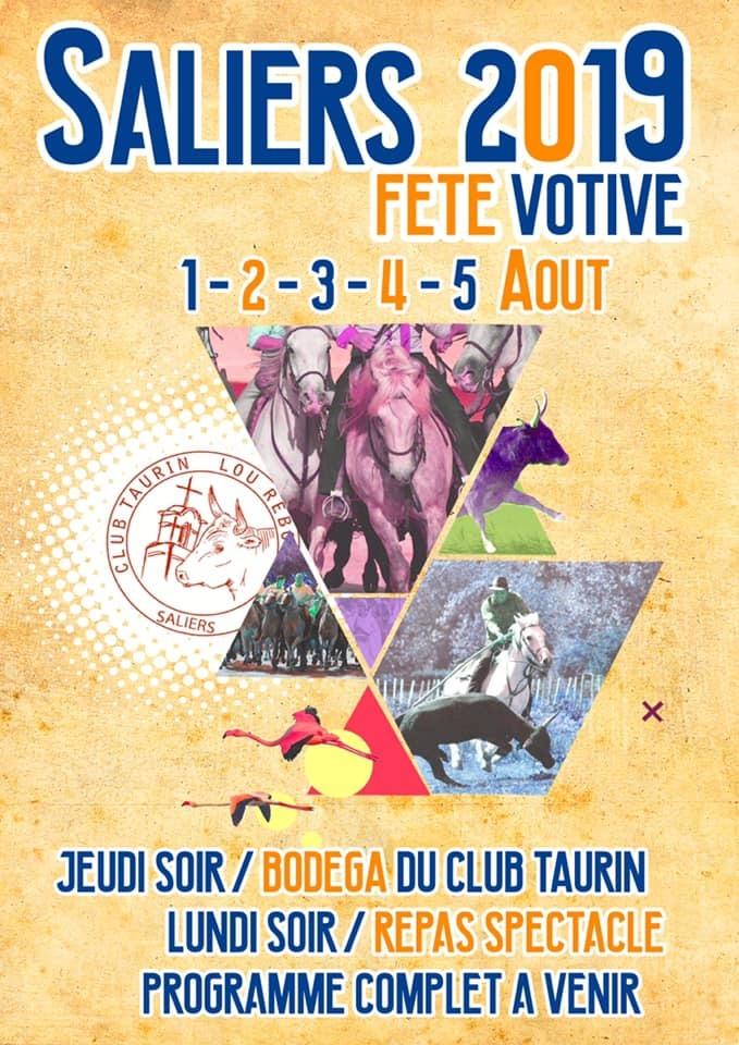 organisée par le club taurin Lou Réboussié
