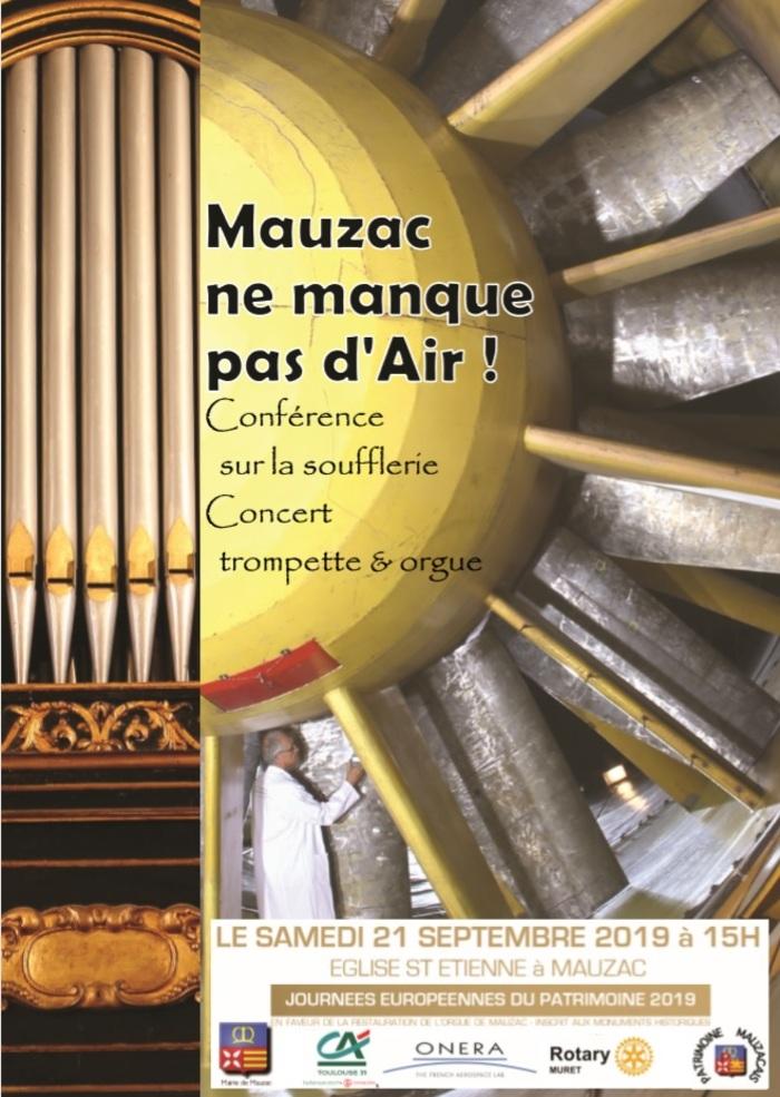 Journées du patrimoine 2019 - Mauzac ne manque pas d'air !