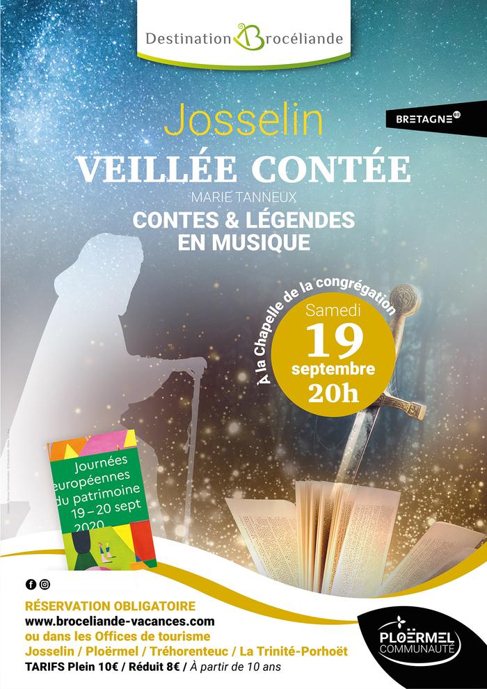 Journées du patrimoine 2020 - Veillée Contée : Contes et légendes en musique