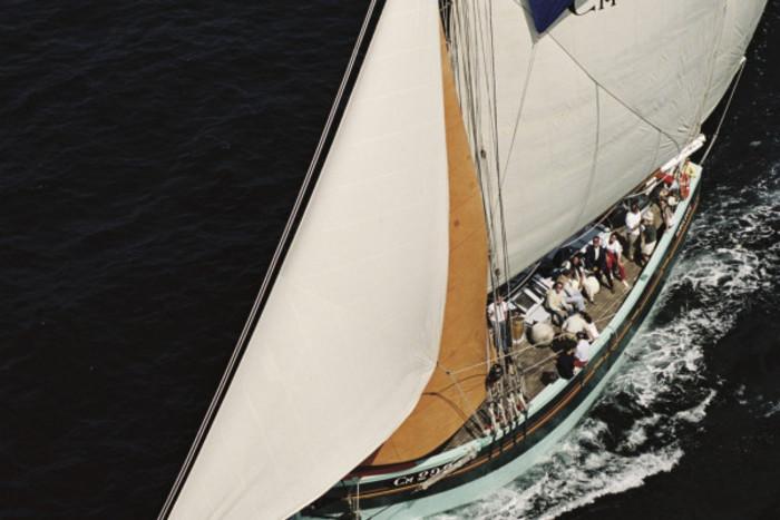 Ballade fluviale à bord du voilier la Nébuleuse