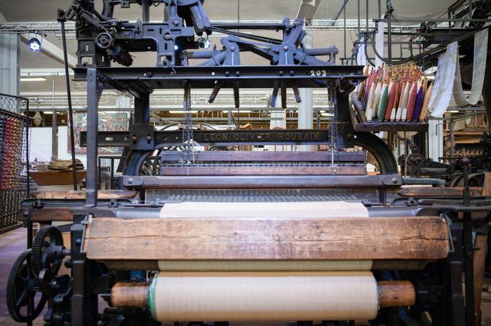 """Visite-rencontre """"RoubaixGraphie"""" à La Manufacture, musée de la mémoire et de la création textile"""