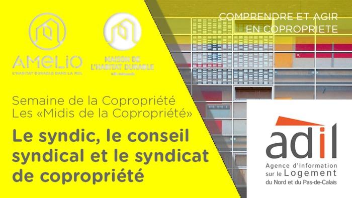 Semaine de la Copropriété : Le syndic, le conseil syndical et le syndicat de copropriété