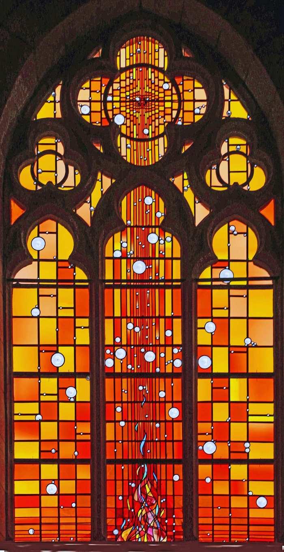 Journées du patrimoine 2019 - Les vitraux de l'église Saint-Martin de Romilly