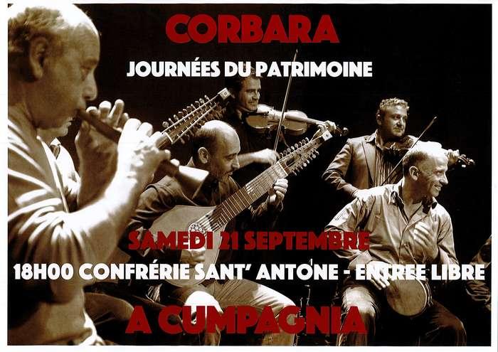 Journées du patrimoine 2019 - Concert-Rencontre à la confrérie de Corbara