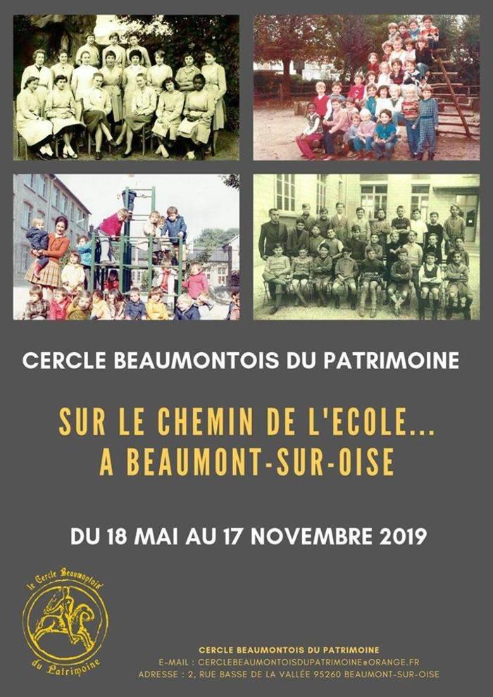 Journées du patrimoine 2019 - Sur le chemin de l'école à Beaumont-sur-Oise