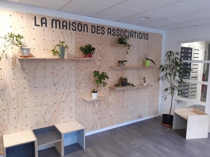 Inauguration de la Maison des Associations de Lille.