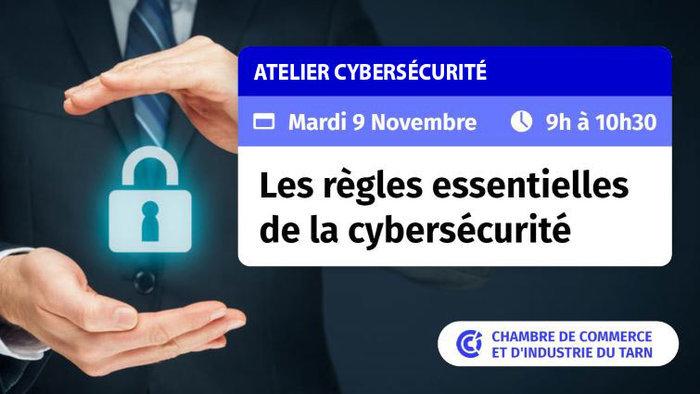 Un atelier pour vous permettre de mieux aborder la problématique de la cybersécurité et de mettre en place les premières règles de préventions au sein de votre entreprise.
