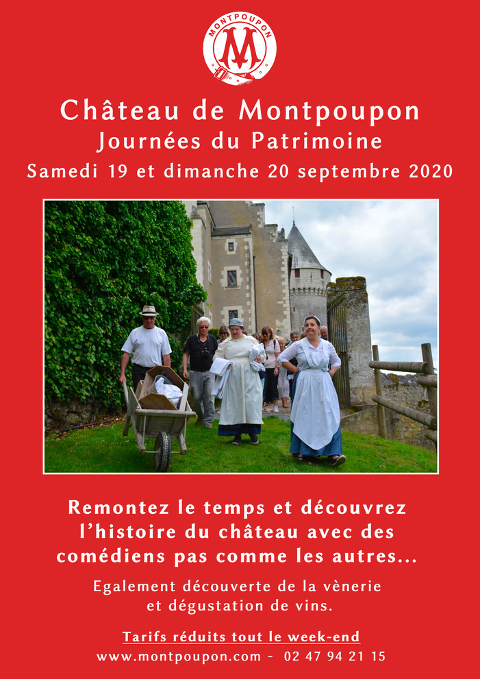 Journées du patrimoine 2020 - Plongez dans la vie du château au temps des années 1920